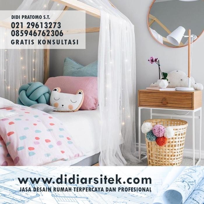 Jasa Desain Kamar Anak di Bekasi
