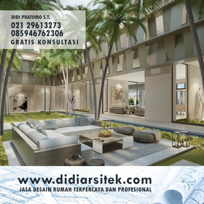 Jasa Desain Rumah Eropa di Bekasi Selatan