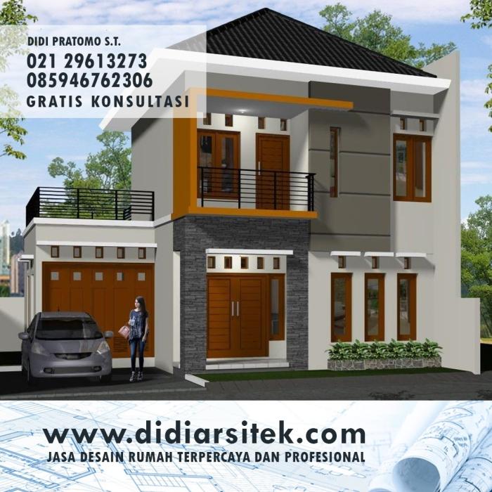 Jasa Desain Rumah Eropa di Bekasi
