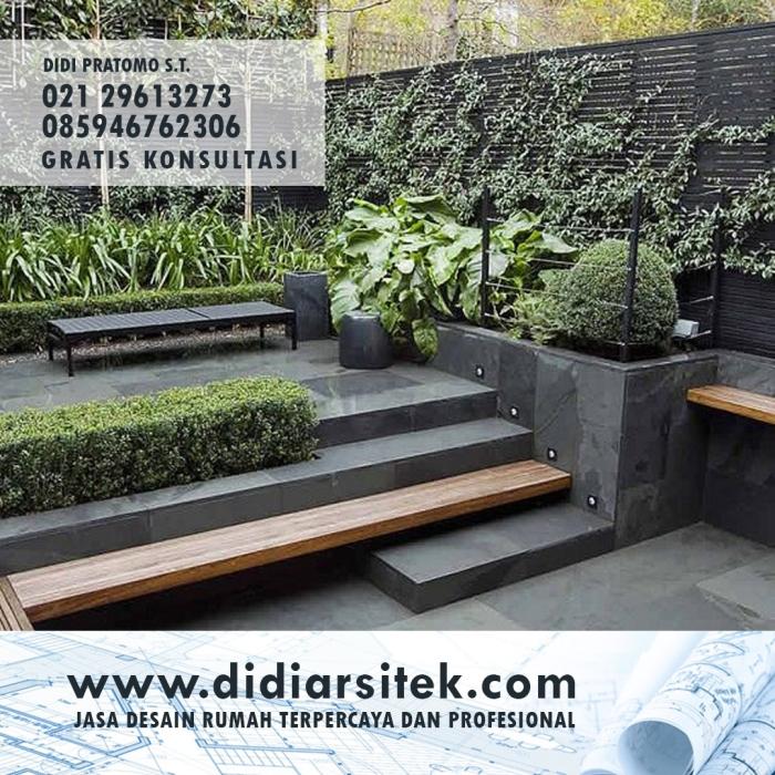 Jasa Desain Taman di Bekasi