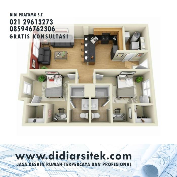 Jasa Desain Rumah 3D di Bekasi
