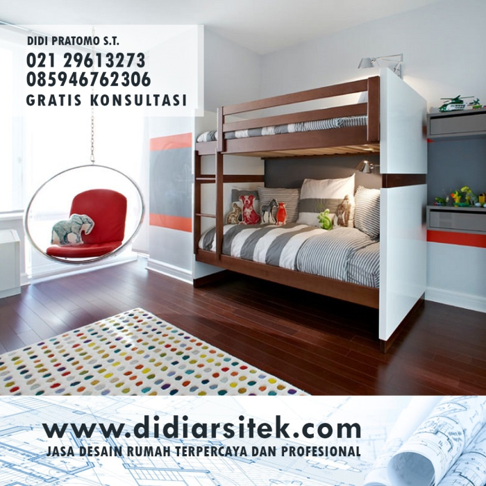 Jasa Desain Kamar Anak di Jakarta Pusat