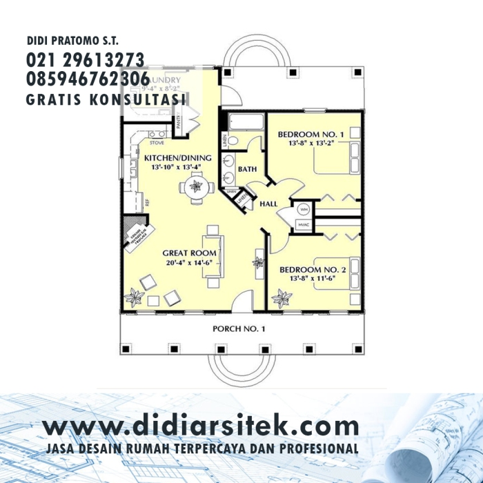 Jasa Desain Rumah 2D di Jakarta Barat