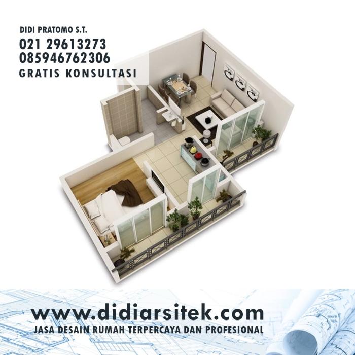 Jasa Gambar Denah Rumah di Jakarta Pusat